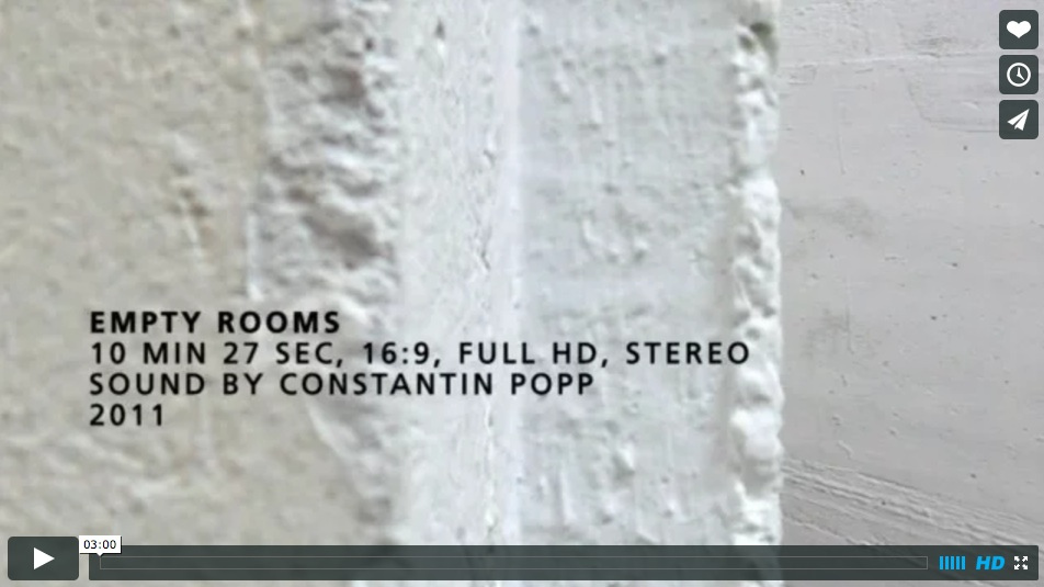 empty rooms on vimeo